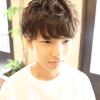 ニュアンスパーマで綾野剛風の髪型に!|メンズヘアスタイル