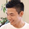 クリスティアーノロナウド風七三刈上げの髪型|メンズヘアスタイル