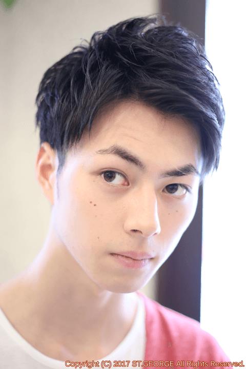 10代モテ髪メンズツーブロック2