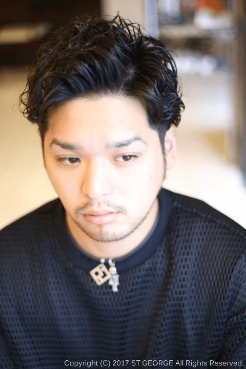 七三分けパーマ-メンズパーマスタイル|香里園の美容室理容室 ...