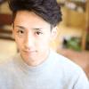 伊勢谷友介風の髪型・ツーブロック×パーマ|メンズカット髪型
