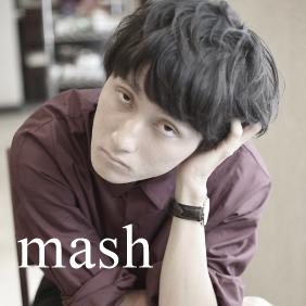 マッシュルームヘア‐メンズの髪型